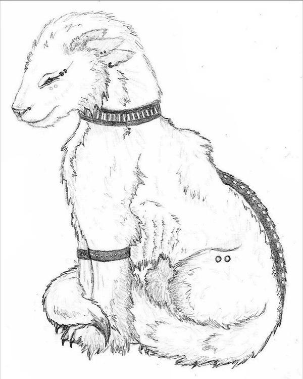 Wolf Hound by Jobii