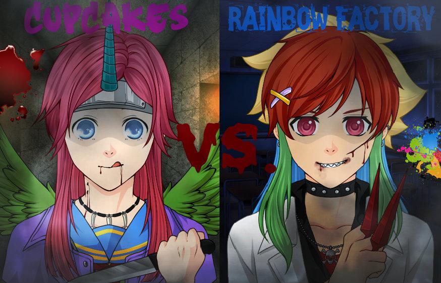 Rainbow dash rainbow factory human