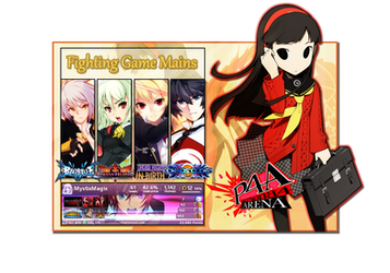 Gamer Card: Fighting Game Mains