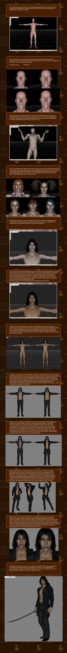 Sexy M3 DAZ Tutorial by CyprithTheCat