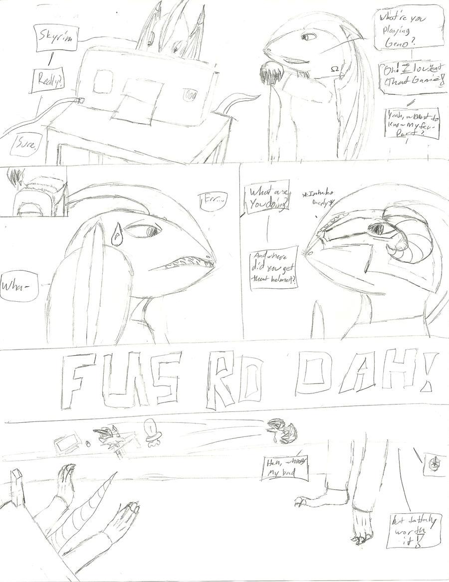 Fus Ro Dah Meme Wip By Dragonguilders On Deviantart