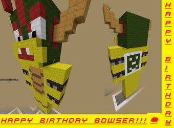 Happy Birthday Bowser! by Pop3464