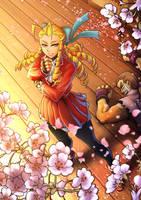 Karin Kanzuki / Street fighter V fan art by si-o