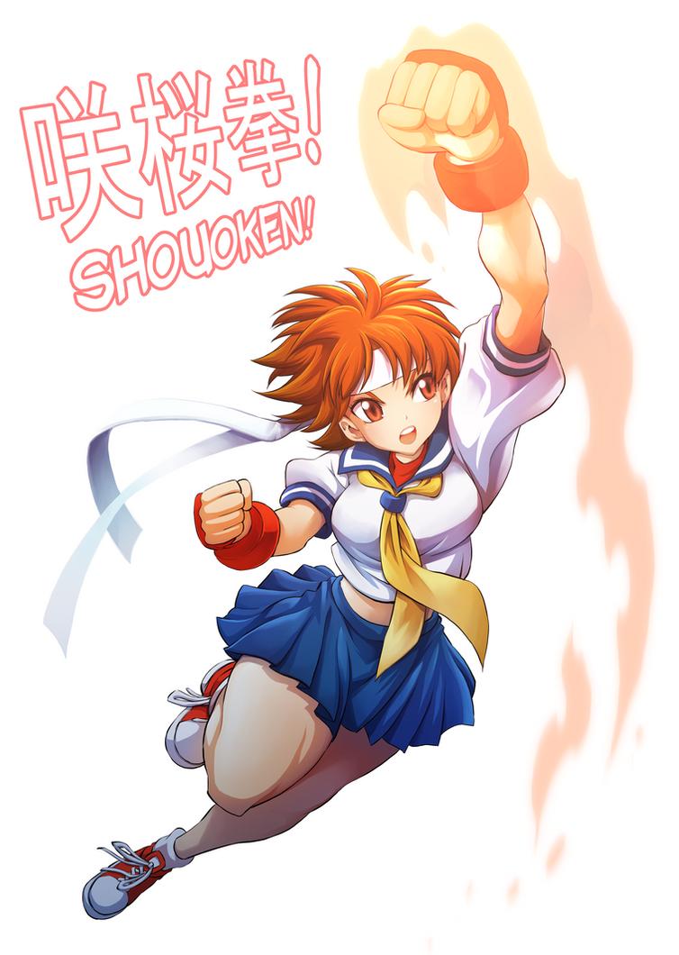 Street fighter 4 sakura