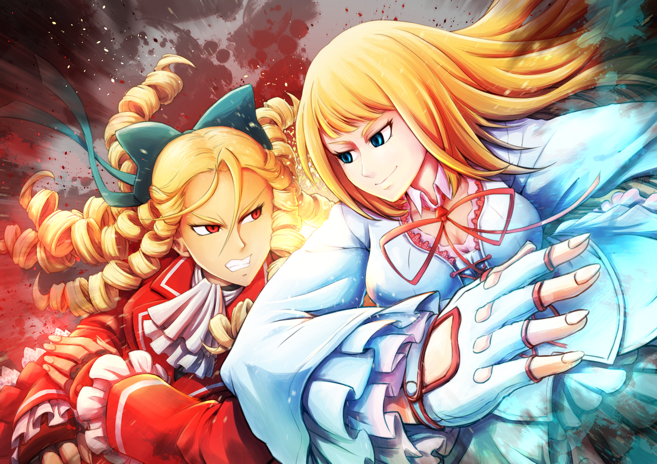 Street fighter karin and lili