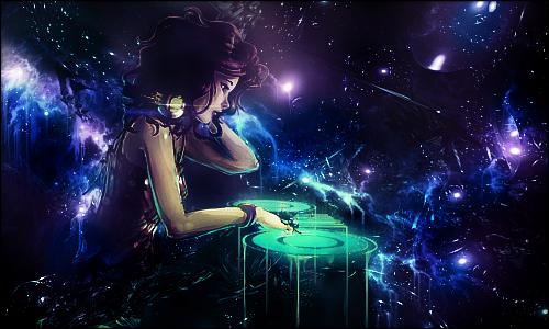 DJ Space by kakarot575