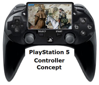 PlayStation 5 Controller Concept by TruthSeekerYgg