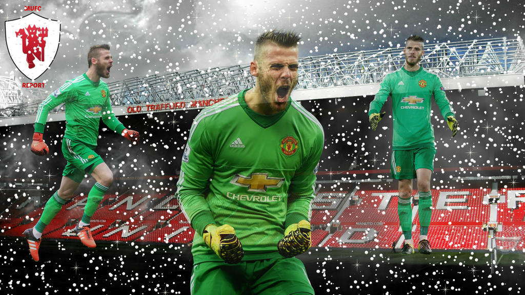 David De Gea Wallpaper [Manchester United] By MUFCREPORT
