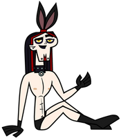Gothy Bunny - Ennui Commission by EvaHeartsArt