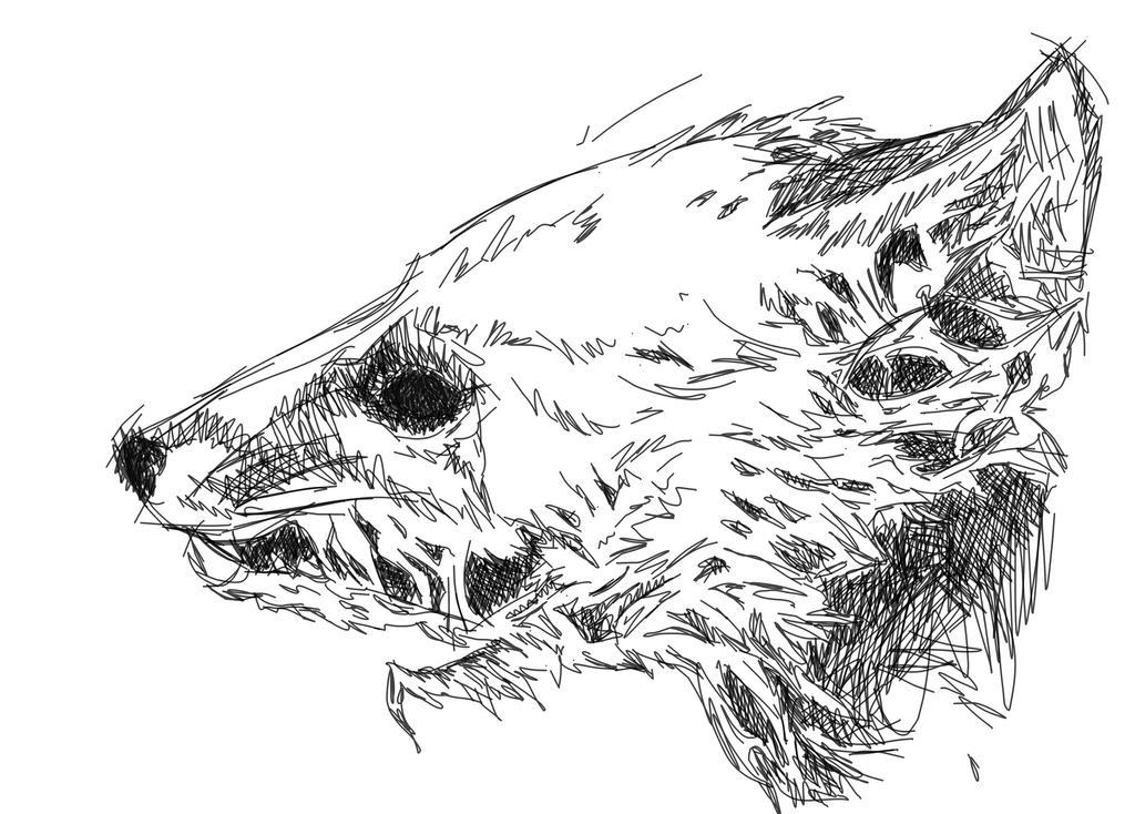 Rotten fox by FamineFamine