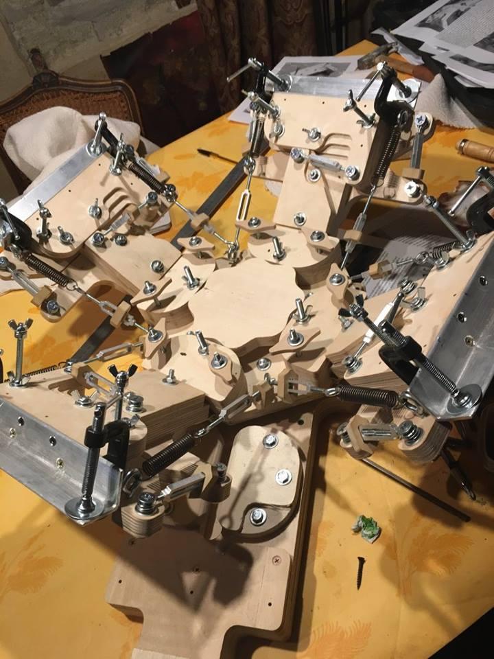 4 colors DIY printing press by FamineFamine