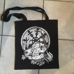 Screenprinted tote bag