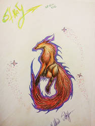 STRAY fox regular by PorcelainMalice