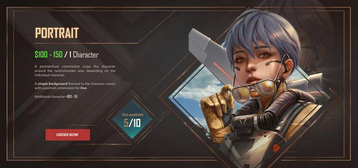 Commission Portrait Info
