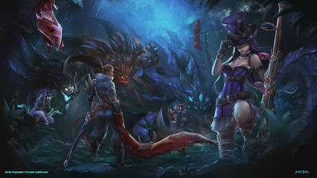 Old League of Legends Fan art for contest