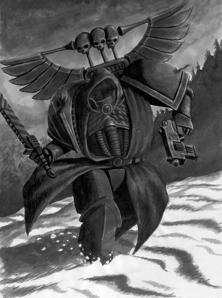 dark angel by Aeduriel