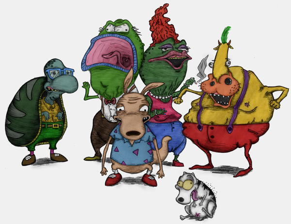 Rockos modern life characters