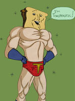 Powdered Toast Man by Tissues