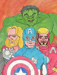 The Avengers by Tissues