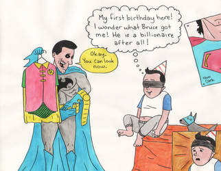 Bruce Wayne: The Legal Guardian by Tissues