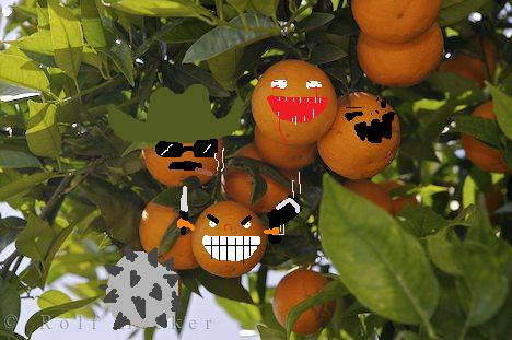THE MAN FROM DEL MONTE SAYS … YES Evil_Oranges_by_zinnia_oberski