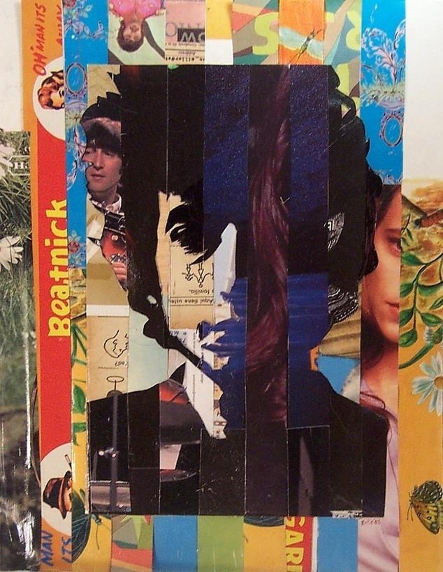Bob Dylan Collage by Flickadaisy