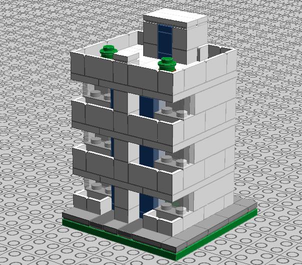 Apartment Block: Lego Art Deco Apartment Block 01 By Trc66 On DeviantArt