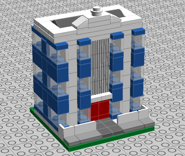 lego office building. lego art deco office building 01 by trc66