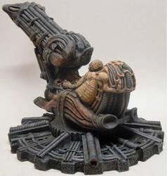 Alien Space Jockey by Trapjaw