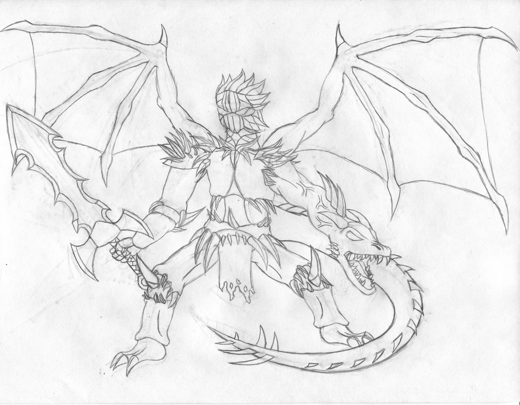 HellKnight Sketch by shadow-recon-666