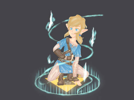 Breath of the Wild Link (First Procreate attempt)