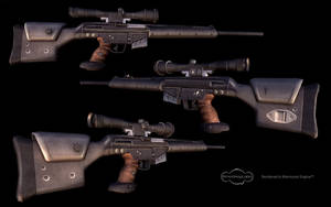 Low-poly PSG-1 by Roomper