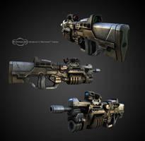 Assault rifle LP by Roomper