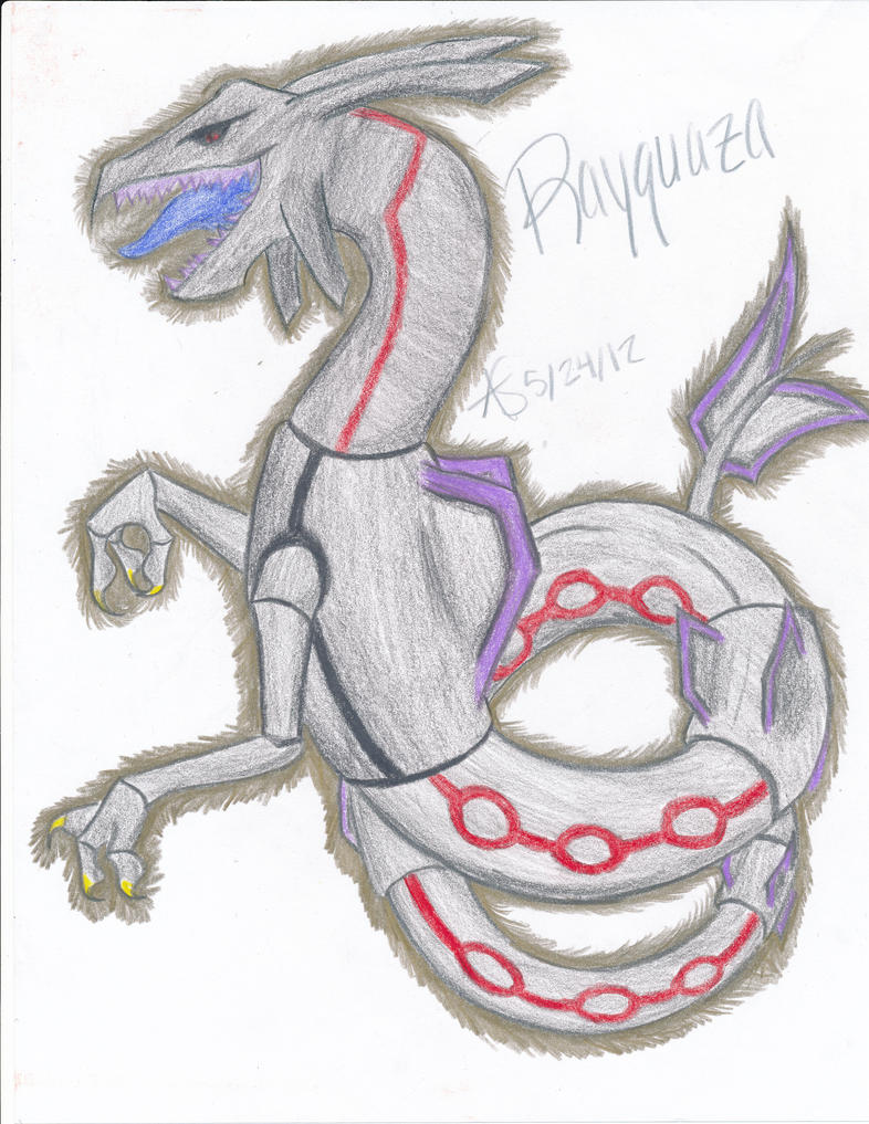 Dark Rayquaza by Amurity