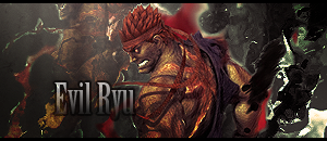 Evil Ryu Forum Signature by arpeejajo