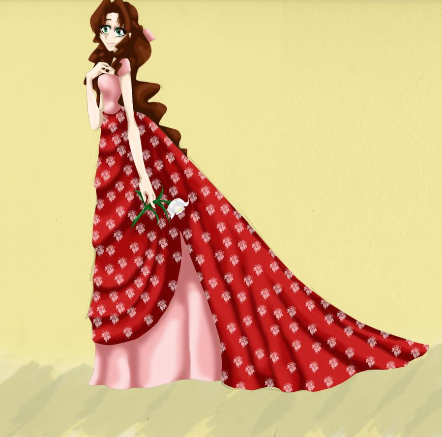 Princess Aerith by IllusionedTime