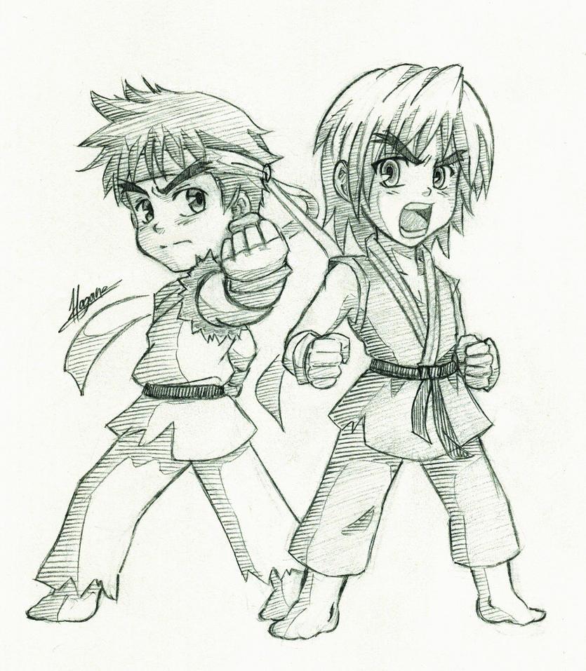 Street Fighter by HaganeNoChibiSan