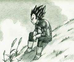 Prince Vegeta by HaganeNoChibiSan