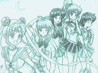 Pretty Sailor Soldiers