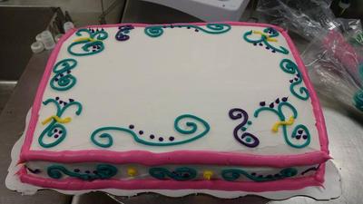 Doodle Cake by YakuzaCupcake