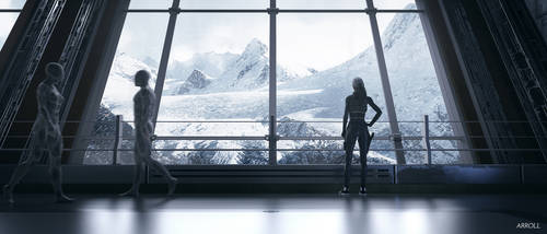 Research Facility in the Mountains by ArroLL