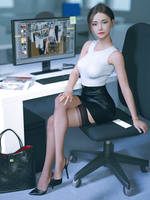 At the office