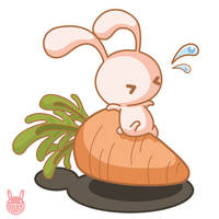 Carrot time by Miss-Rabbit