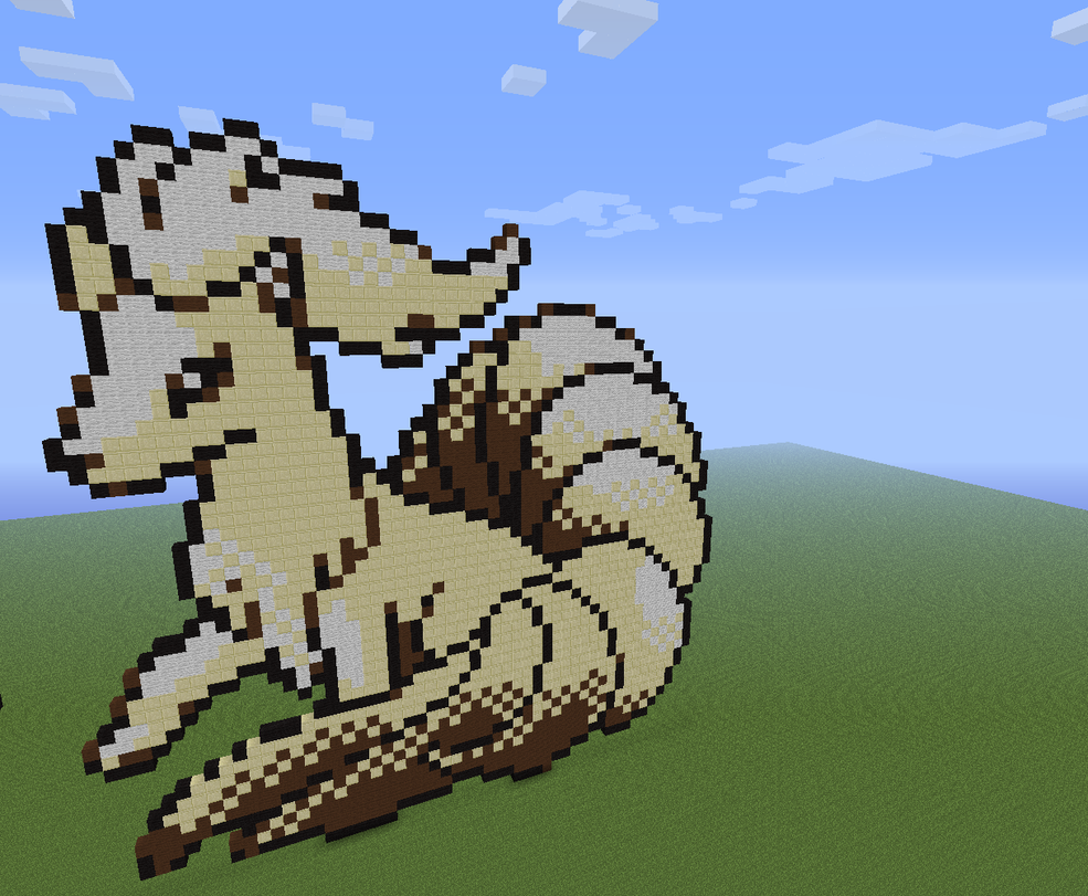 Minecraft Eevee by KuroDrago on DeviantArt