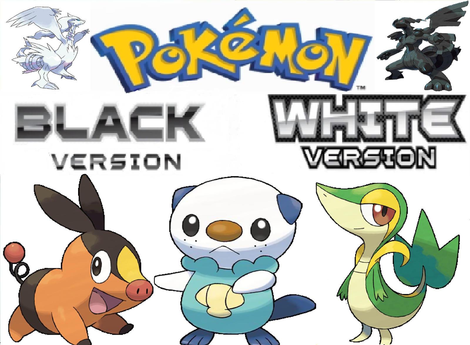 Pokemon Black And White By Hauojudai