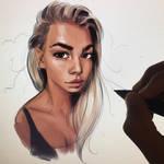 quick portrait study