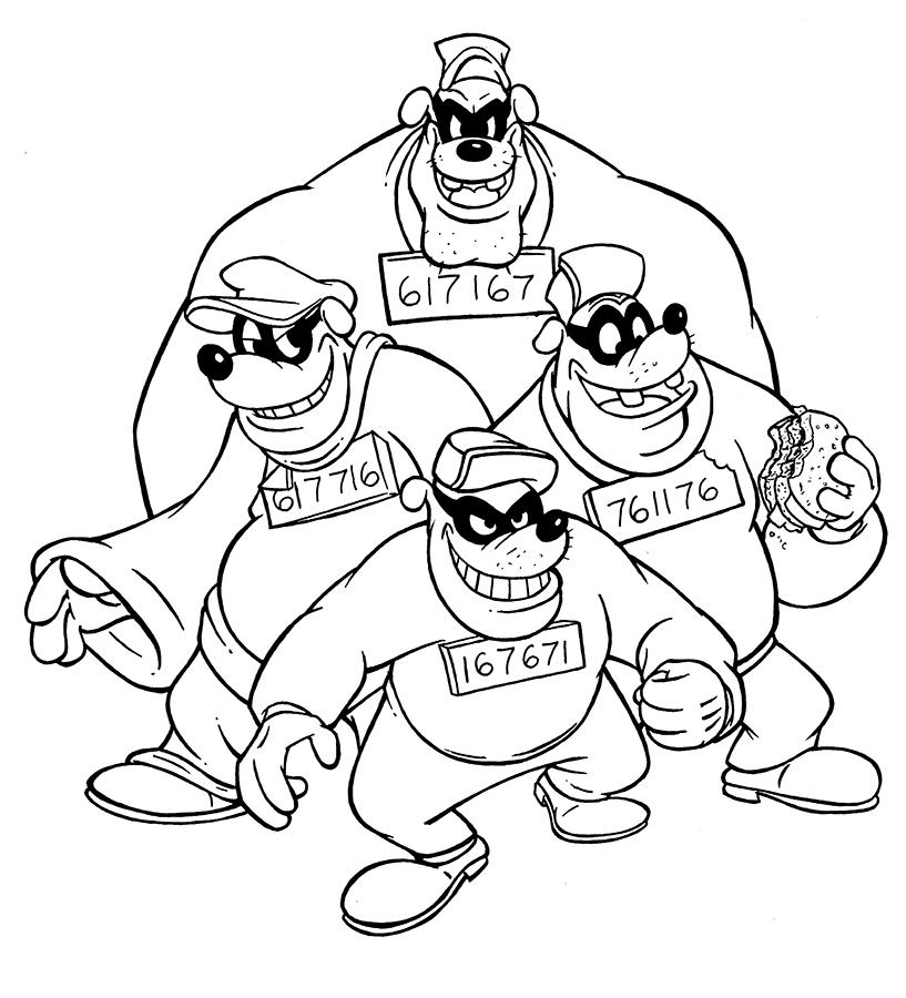 beagle boys by animalqwacker on deviantart
