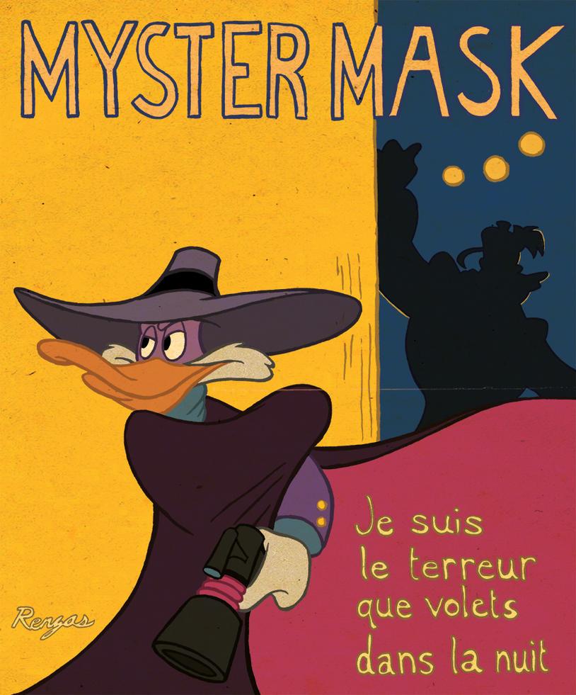 Myster Mask (Darkwing Duck) by AnimalQwacker