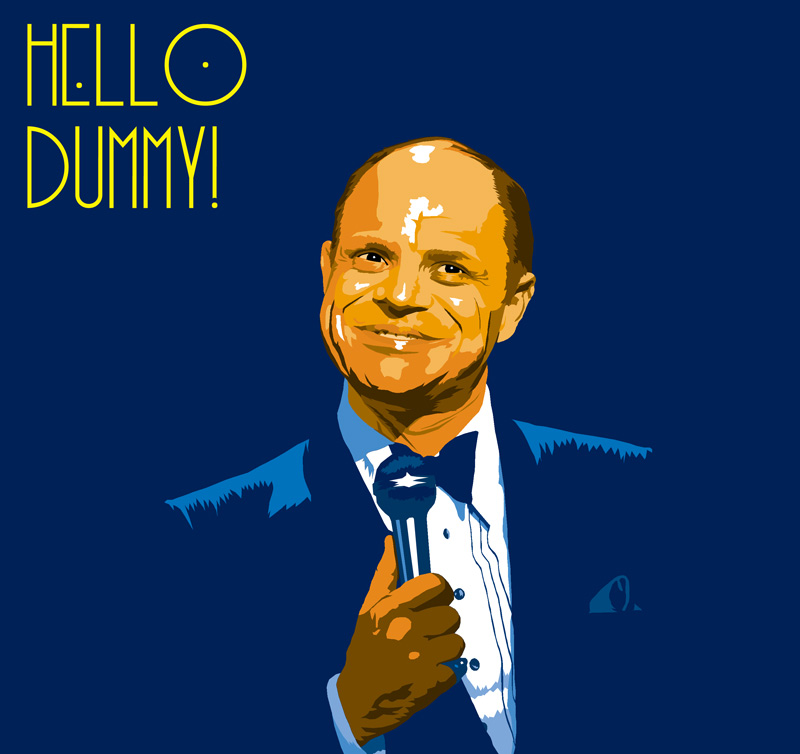Hello Dummy! by AnimalQwacker