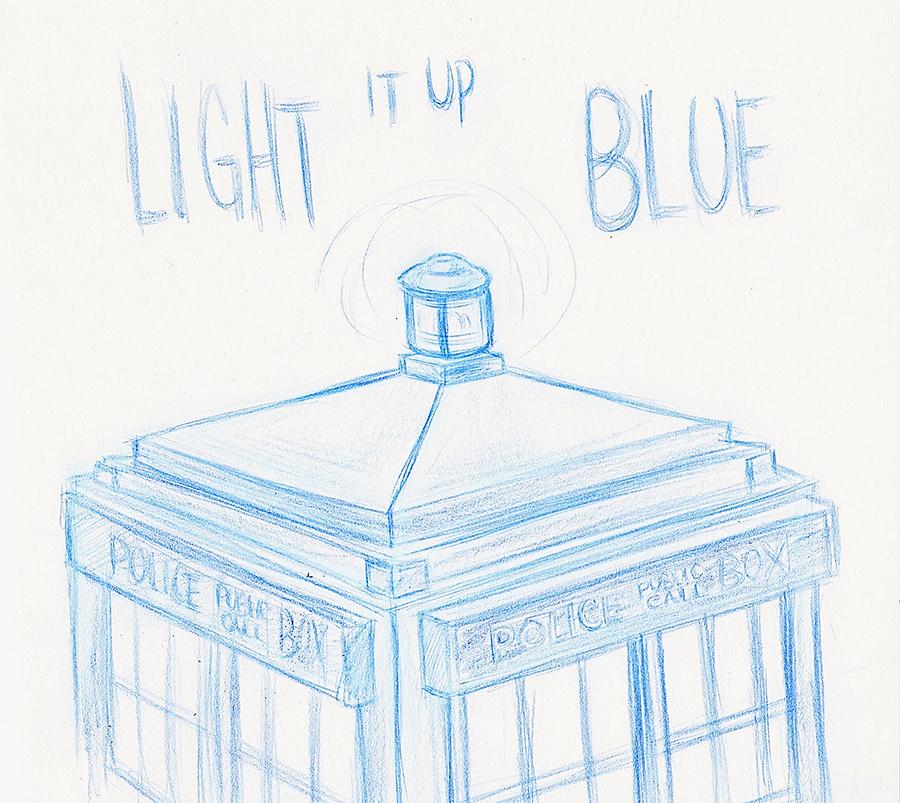 Light It Up Blue 1 by AnimalQwacker